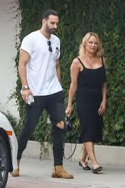 Pamela Anderson: With Her Boyfriend Adil Rami in Malibu-13 | GotCeleb