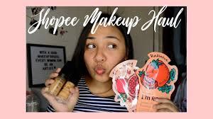 makeup haul philippines saubhaya makeup