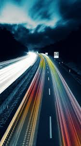 cool animated rainbow highway wallpaper
