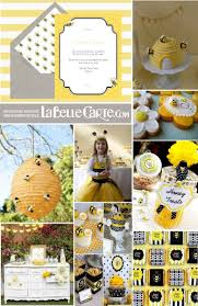 Invitaciones Infantiles E Ideas Para Celebrar Un Cumpleanos De Abejitas Bee Party Bee Decor Birthday Theme