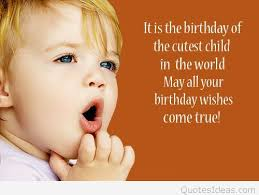 sweet birthday wishes image for my adorable baby boy nice wishes