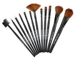 amazon mash makeup brush set w case 12 99