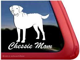 Chessie Mom Chesapeake Bay Retriever Decals Stickers Nickerstickers