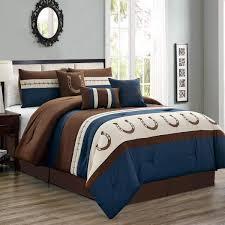 queen king bed 7 pc comforter set