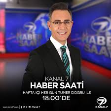 Kanal 7 - Tümer Doğru'nun sunumuyla Kanal 7'de Haber Saati...