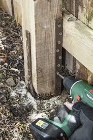 Fence Post Repair Quick Simple Effective Buy It Here Fence Post Repair Fence Post Wood Fence Post