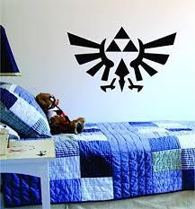 Amazon Com Triforce Zelda Original Wall Decal Sticker Vinyl Art Bedroom Living Room Decor Decoration Teen Quote Inspirational Boy Girl Game Gaming Video Games Retro Old School Controller Cool Link Arts Crafts
