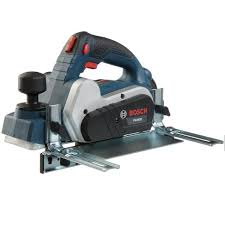 Bosch 6 5 Amp 3 1 4 In Corded Planer Kit With Reversible Woodrazor Micrograin Carbide Blade Pl1632 The Home Depot