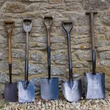 vintage garden tools from garden wood