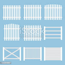 Wood Fence Facing Free Vector Download It Now