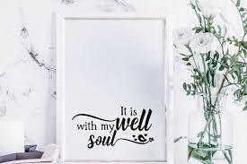 my soul wall art print printable
