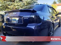 Rtint Blackout Smoke Tint Car Wrap Film