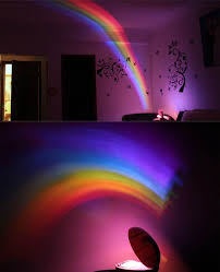 Egg Shaped Room Romantic Rainbow Projector Led Night Light Lamp Decoration Sleeping Lamp Night Light Lamp Lamp Decor Craft Room Lighting