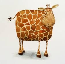 Ada Robinson Illustration: Short Necked Giraffe