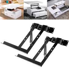 ootdty 1pair lift up top coffee table