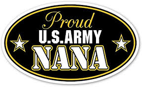 Amazon Com Proud Us Army Nana Support Out Armed Forces Euro Vinyl Bumper Sticker Decal Ideal For Use On Car Windows Bumpers Walls Doors Glass Windows Or Any Other Clean Smooth Surfaces