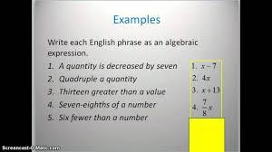algebra worksheets printable