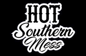 Hot Southern Mess Car Window Sticker Ebay