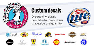 Vinyl Window Lettering Decals Custom Dealership Decals Logo Company Logos Custom Decals Vinyl Graphics Direct Decals