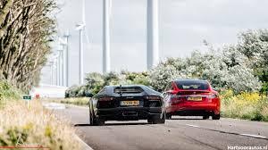 Tesla Model S P90D vs Lamborghini ...