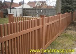 Ohio Fence Company Eads Fence Co Vinyl Picket Fence Photo Gallery