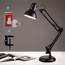 Đèn bàn học tập, làm việc, có chân kẹp bàn kiểu dáng Pixar Tặng 1 bóng LED  7W vàng , Đèn Bàn Học, Đèn Kỹ Thuật Pixar kẹp bàn , Chân Đèn