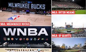 NBA postpones playoff games after the Milwaukee Bucks boycott in response  to the Jacob Blake