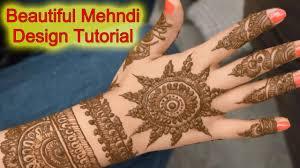 mehndi designs full hand simple