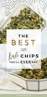 dehydrated kale chips recipe ever