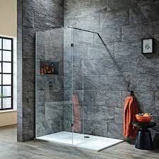 shield s8 wet room shower screen with