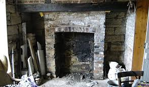 opening up a victorian fireplace