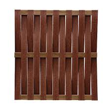 6 X 6 Composite Basket Weave Fence Panel Material List At Menards