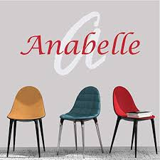 Amazon Com Girl S Custom Name And Initial Wall Decal Choose Your Own Name Initial And Letter Styles Multiple Sizes Nursery Wall Decal For Baby Room Decorations Personalized Name Wall Decal Wall Decor Handmade