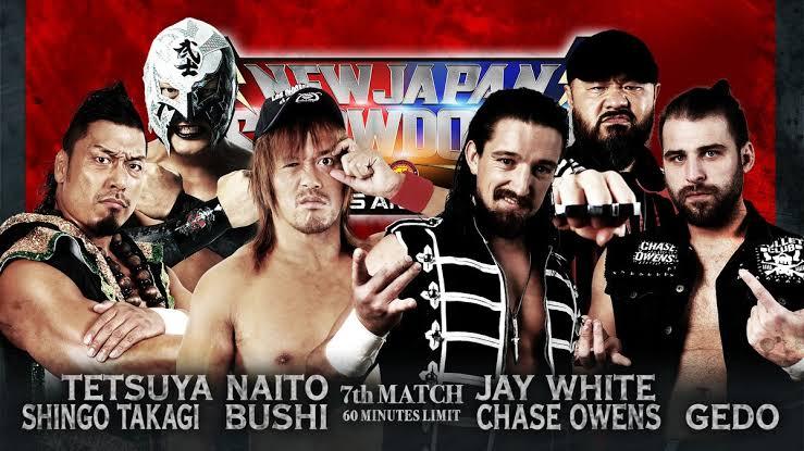 """Resultado de imagem para NJPW Showdown"""""""