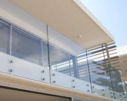 glass standoff balcony railing designs