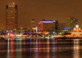 long beach at night other nature