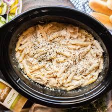 slow cooker olive garden en pasta