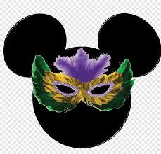 Mickey Mouse Minnie Mouse Mask The Walt Disney Company Mardi Gras, mardi  gras, heroes, walt Disney, restaurant png