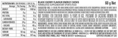 clif bloks energy chews at