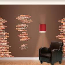Fathead Vertical Brick Wall Accents Big Wall Decal Reviews Wayfair