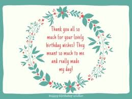 thank you notes for birthday wishes happy birthday wisher