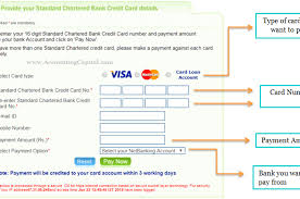 credit card bill from another bank