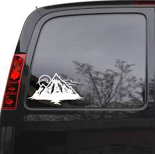 Auto Car Sticker Decal Mountains Sun Nature Truck Laptop Window 8 9 B Wallstickers4you