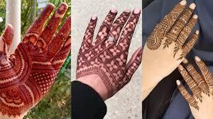 mehndi design for girls simple