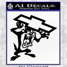 Taz Chevy Decal Sticker Tasmanian Devil A1 Decals