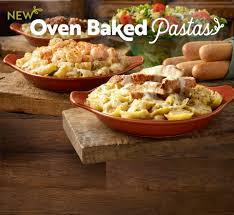 Oven Baked Pastas | Specials