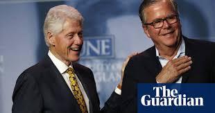 Bill Clinton and Jeb Bush seek refuge from Trump impeachment storm ...