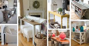 25 best sofa table ideas and designs