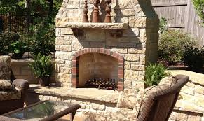 outdoor fireplace contractor st