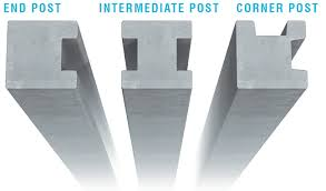 Heavy Duty Lightweight Slotted Fencing Posts Fp Mccann